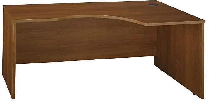 kidney shaped office desk
